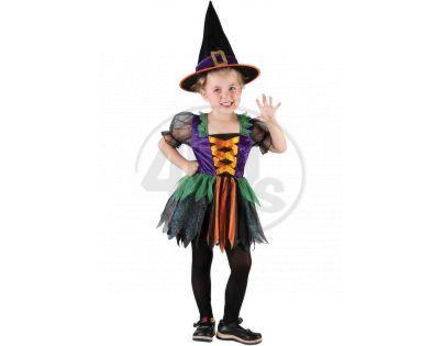 Made Dětský kostým Čarodějka 92-104cm - Poškozený obal