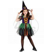 Made Šaty na karneval Čarodějka 120-130 cm