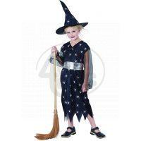 Made Dětský kostým Čarodějka pavouk 120-130 cm