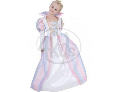 Made Dětský kostým Duhová princezna 120-130 cm