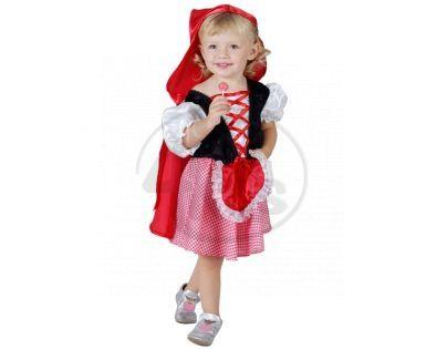 MaDe 50155 - Šaty na karneval - 3-4 roky - Karkulka
