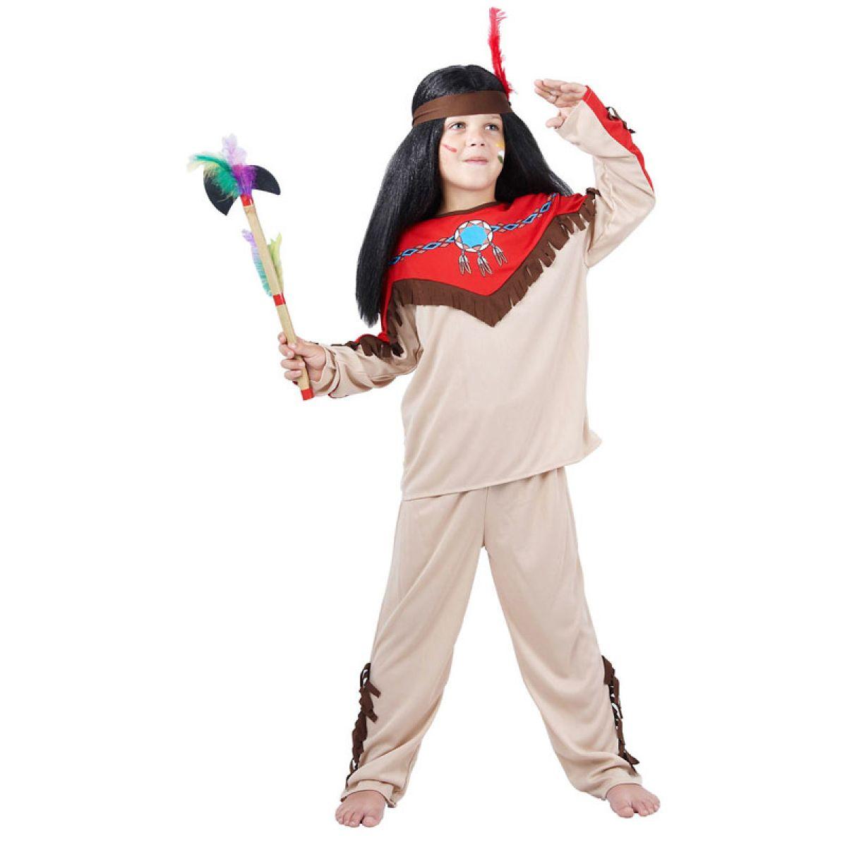 Dětský kostým indián vel.S
