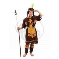 Made Dětský kostým indiánka velikost S