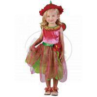 Made Dětský kostým Jahodová víla 92-104cm