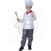 Made Dětský kostým Kuchař 110-120cm