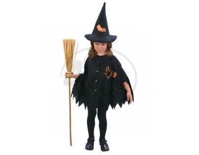 Made Dětský kostým Malá čarodějka 92-104cm