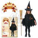 Made Dětský kostým Malá čarodějka 92-104cm 2