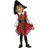 Made Dětský kostým Pirátka 92-104cm