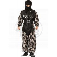 Made Dětský kostým Policista 110-120cm