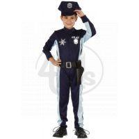Made Dětský kostým Policista s čepicí 120-130 cm