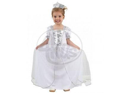 Made Dětský kostým Princezna s korunkou malá 3-4 roky