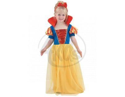 MaDe 55594 - Šaty na krneval-Sněhurka,3-4 roky