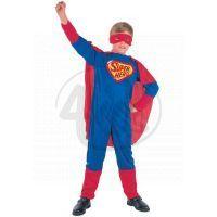 Made Dětský kostým Super hrdina 110-120 cm