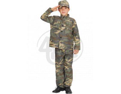 Made Dětský kostým Voják 110-120cm