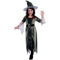 Made Kostým na karneval čarodějka 120-130 cm