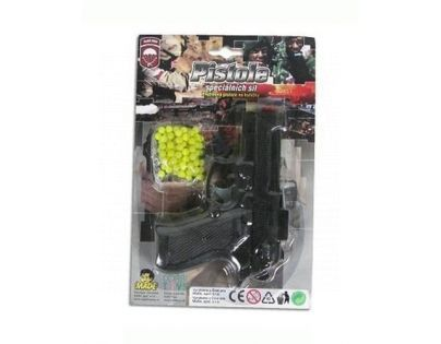 MaDe Kuličková pistole 15cm černá