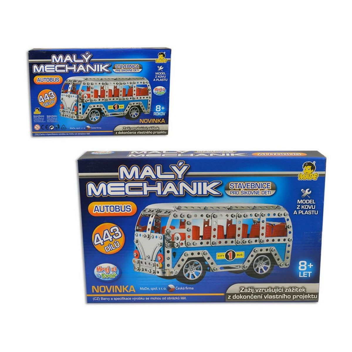 Made Malý mechanik Autobus