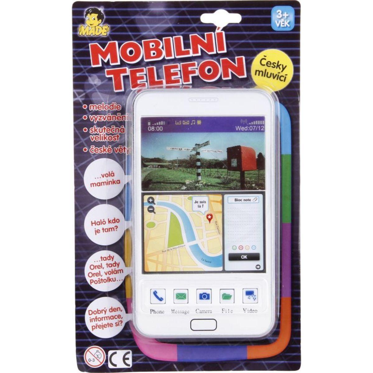 Made Mobilní telefon Bílá