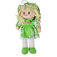 Made Panenka hadrová 30 cm Zelené šaty