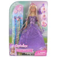 Made Panenka Lucy princezna ve fialových šatech