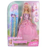 Made Panenka Lucy princezna v růžových šatech