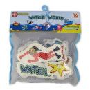 Made Pěnová zvířátka do vany Vodní svět 16 ks 2