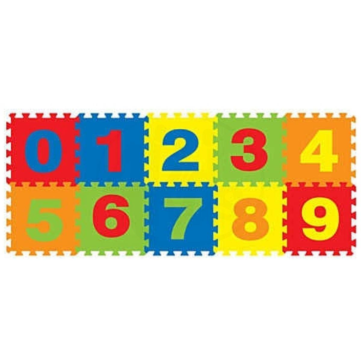 Made Pěnový koberec číslice