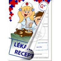 Made Poznámkový blok lékařské recepty