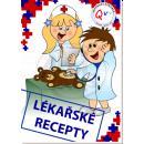 Made Poznámkový blok lékařské recepty 2