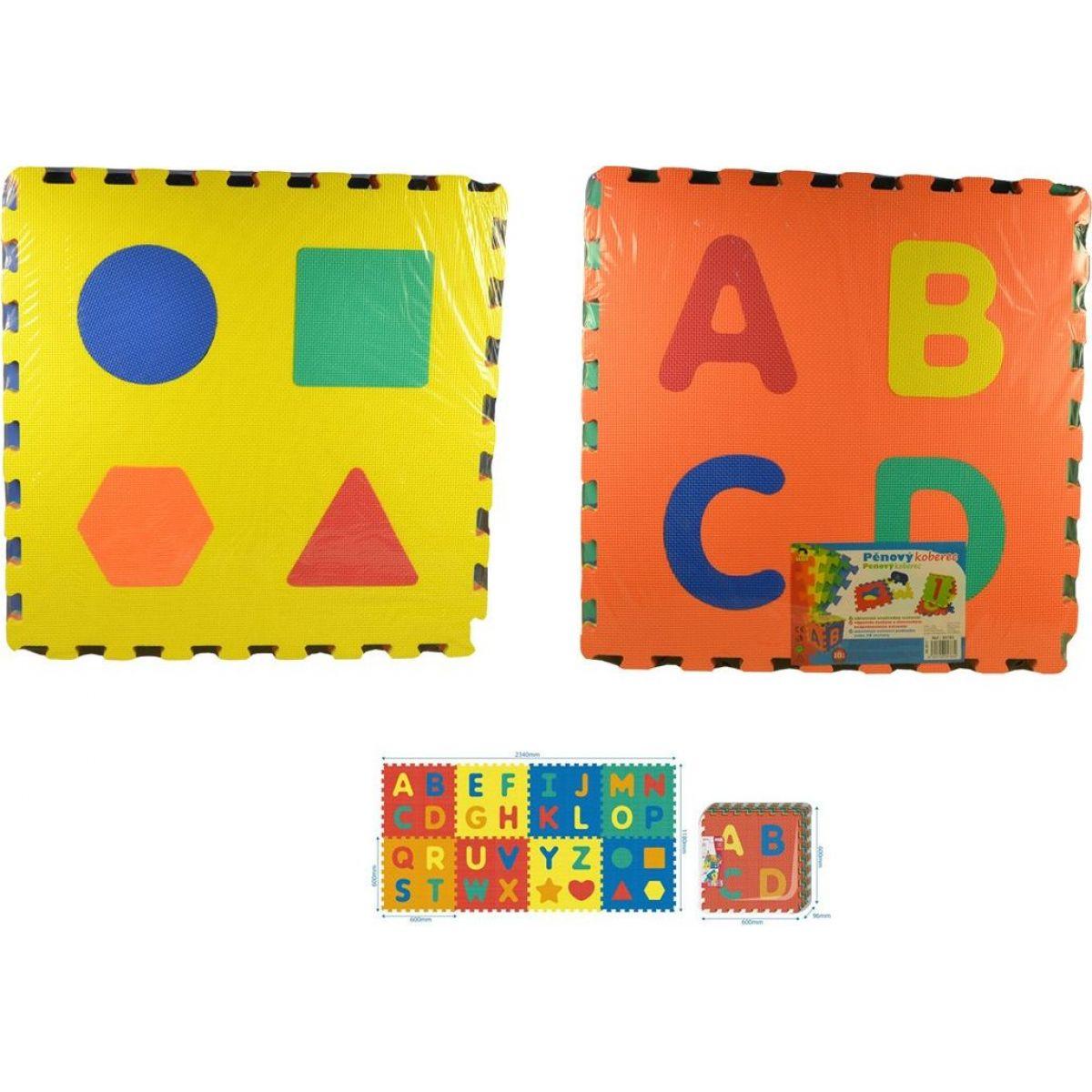 Made Puzzle pěnové Abeceda 8 ks 60 x 60 cm