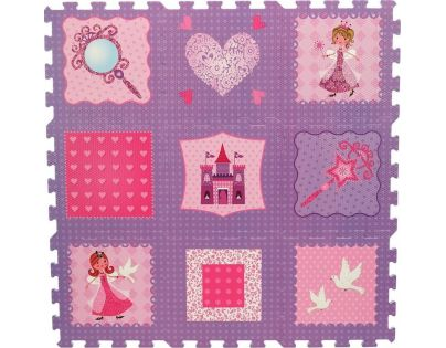 Made Puzzle pěnové princezny 9 ks