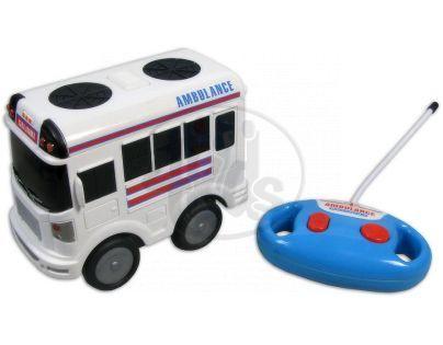 Made Autobus policie a ambulance R/C - Ambulance