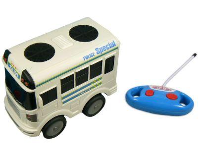 Made Autobus policie a ambulance R/C - Autobus policie