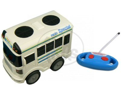 Made Autobus policie a ambulance R/C - Autobus policie