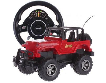 Made RC Auto Jeep - Červená