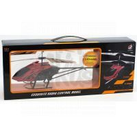 Made RC Helikoptéra - červená 2
