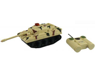 Made RC Tank na dálkové ovládání - Béžový