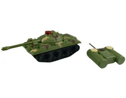 Made RC Tank na dálkové ovládání - Zelený