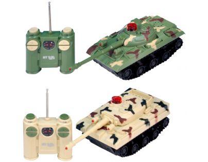 Made RC Tank na dálkové ovládání s funkcí boj 2 ks