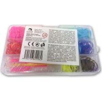 Made Sada gumiček 300 ks v boxu 11 barev