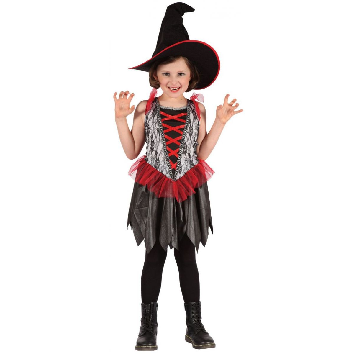 MaDe Šaty na karneval Malá čarodejnica 120-130 cm