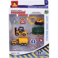 MaDe Sestava se stavebními auty 87717