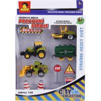 MaDe Sestava se stavebními auty 87718