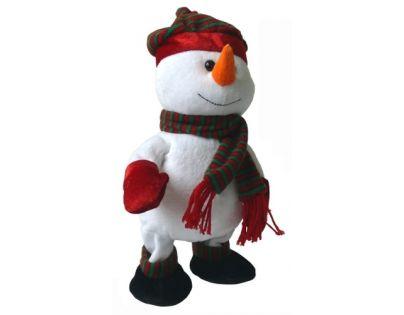 Made Sněhulák chodí a tancuje 30 cm