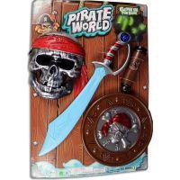 Made Souprava pirátská na baterie s mečem 45 cm