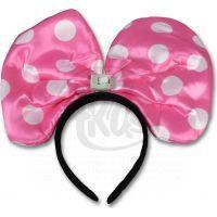 Made Svítící uši myšky Minnie
