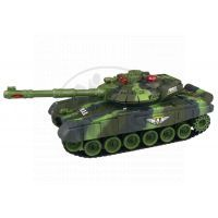 Made Tank na dálkové ovládání - zelený