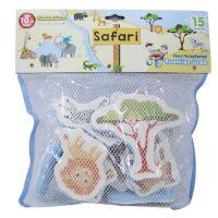 Made Vodolepky pěnové Safari 15ks