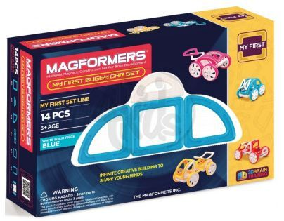 Magformers My first Buggy car modrá 14ks