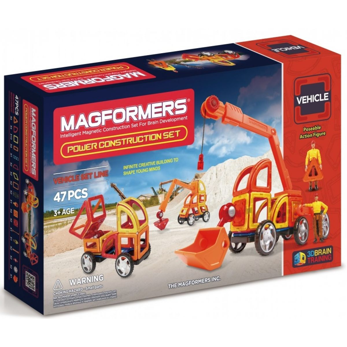 Magformers Power Construction Set 47ks